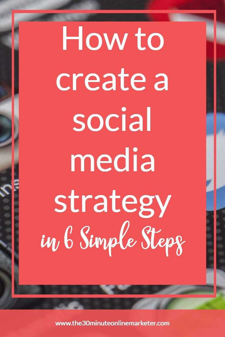 How to create a social media strategy in 6 simple steps