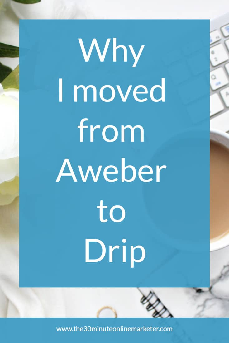 Why I moved from Aweber to Drip