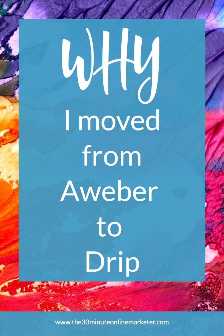 Why I moved from Aweber to Drip.