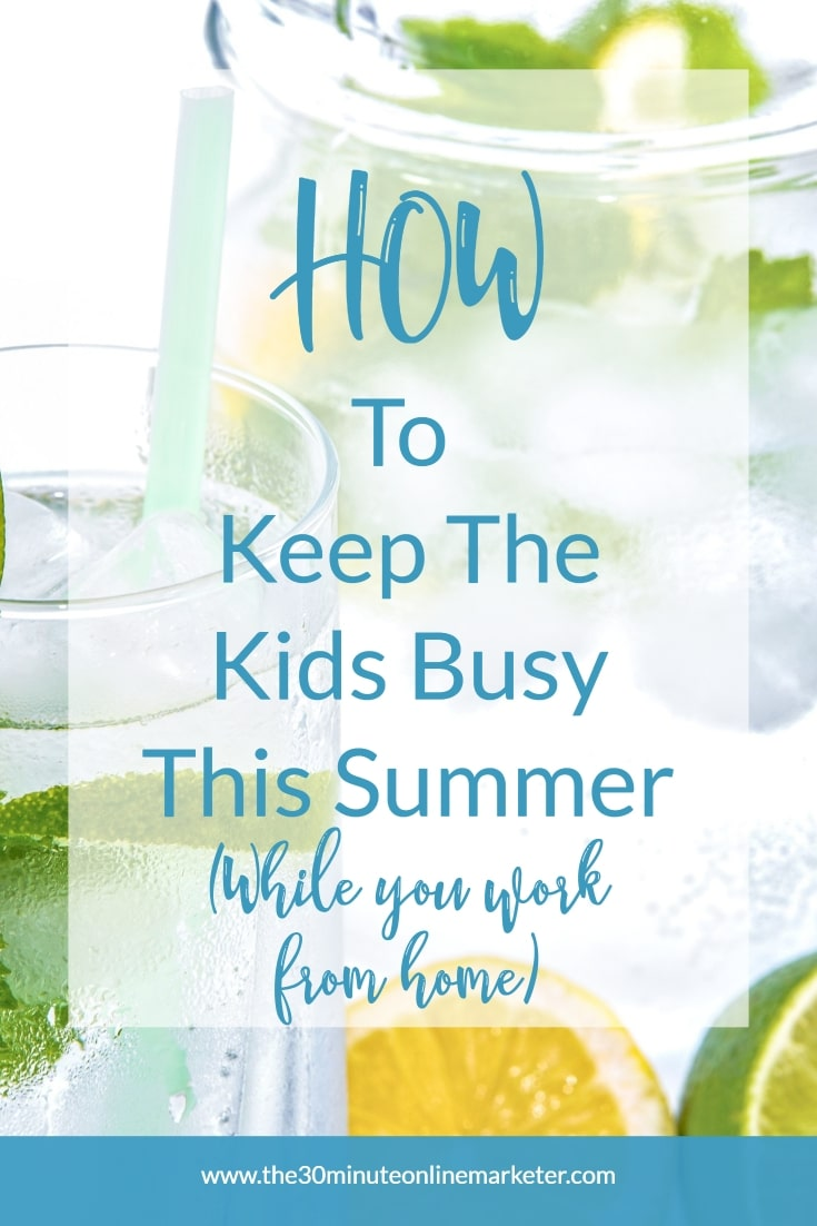 How to keep kids busy this summer