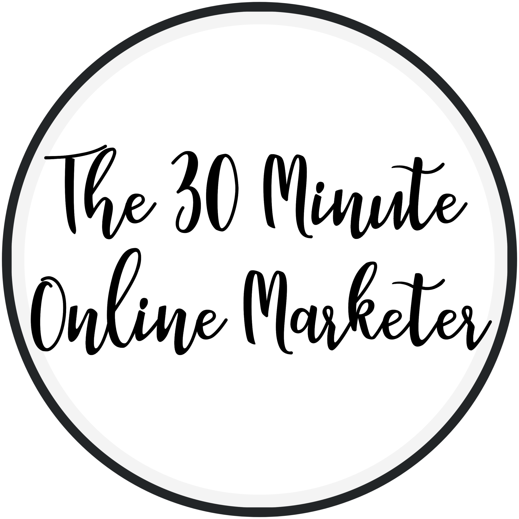 Logo The 30 Minute Online Marketer