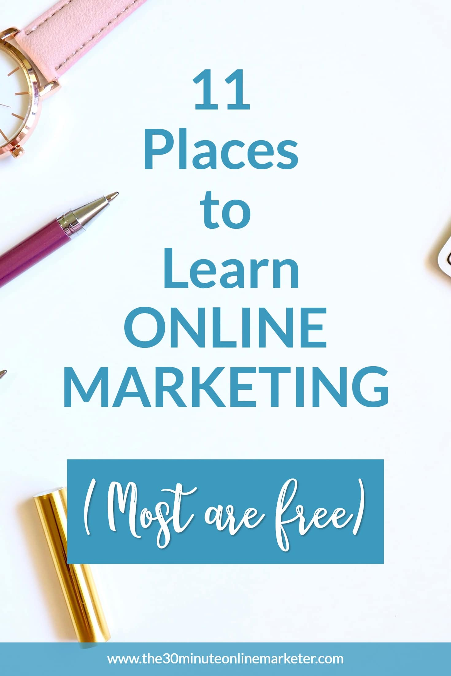 If you need help to promote your business and don't know where to find the best resources, check out this list of (mostly free) places where you can learn everything you know to promote your business online. #onlinemarketing #promoteyourbusiness