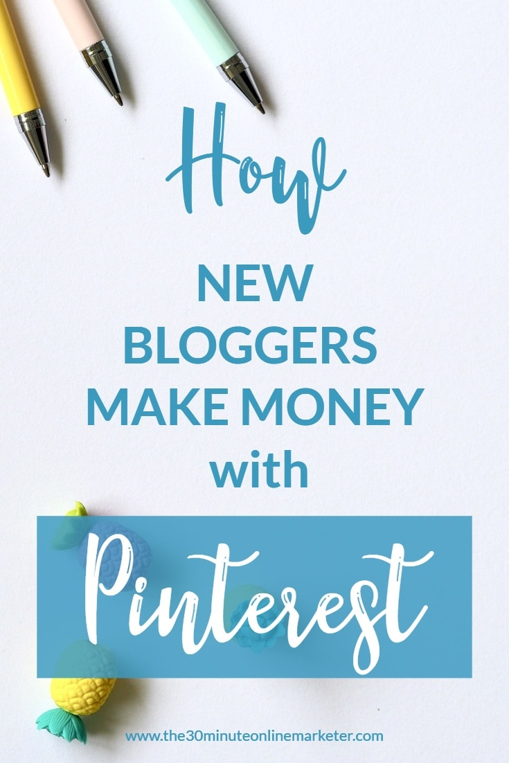 How new bloggers make money with Pinterest