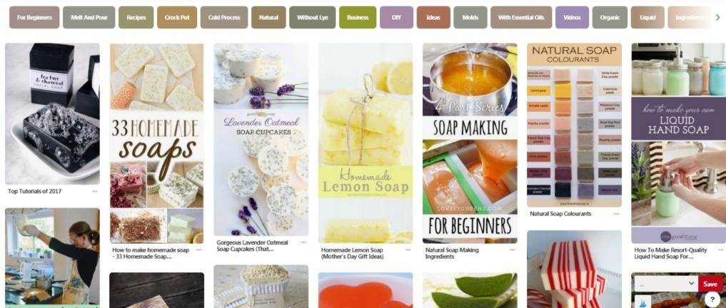 Soap Making Recipes Pins on Pinterest