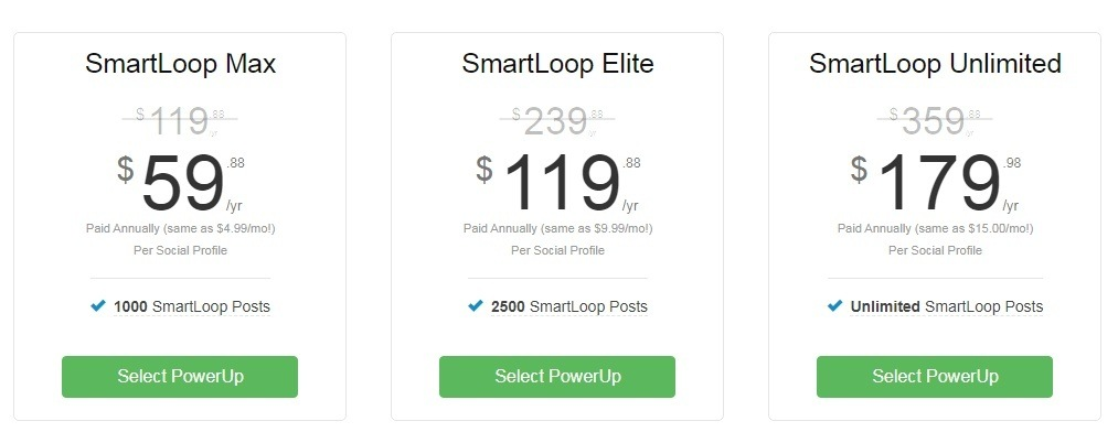 SmartLoop Pricing
