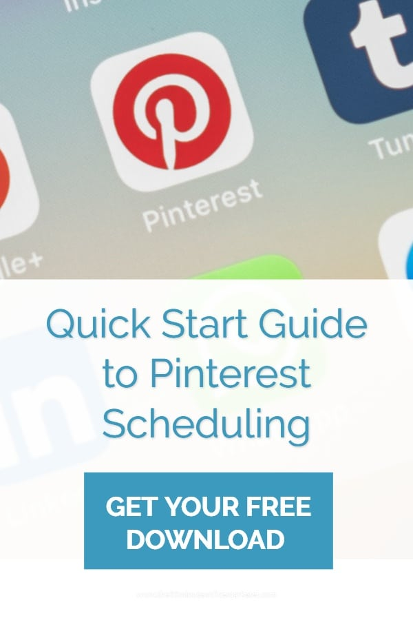 Quick start guide to Pinterest Scheduling
