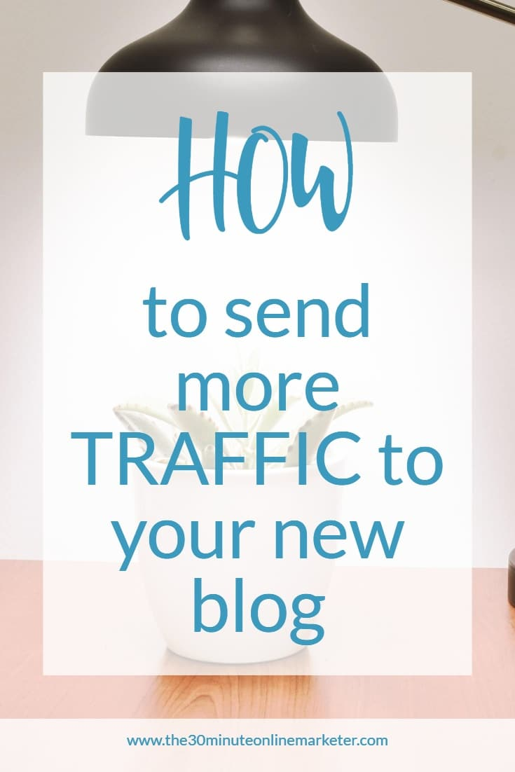 How to send more traffic to your new blog