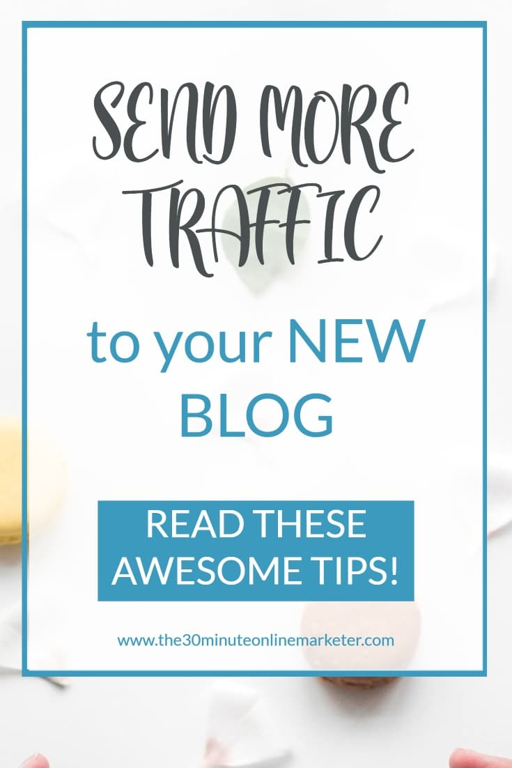 Send more traffic to your new blog