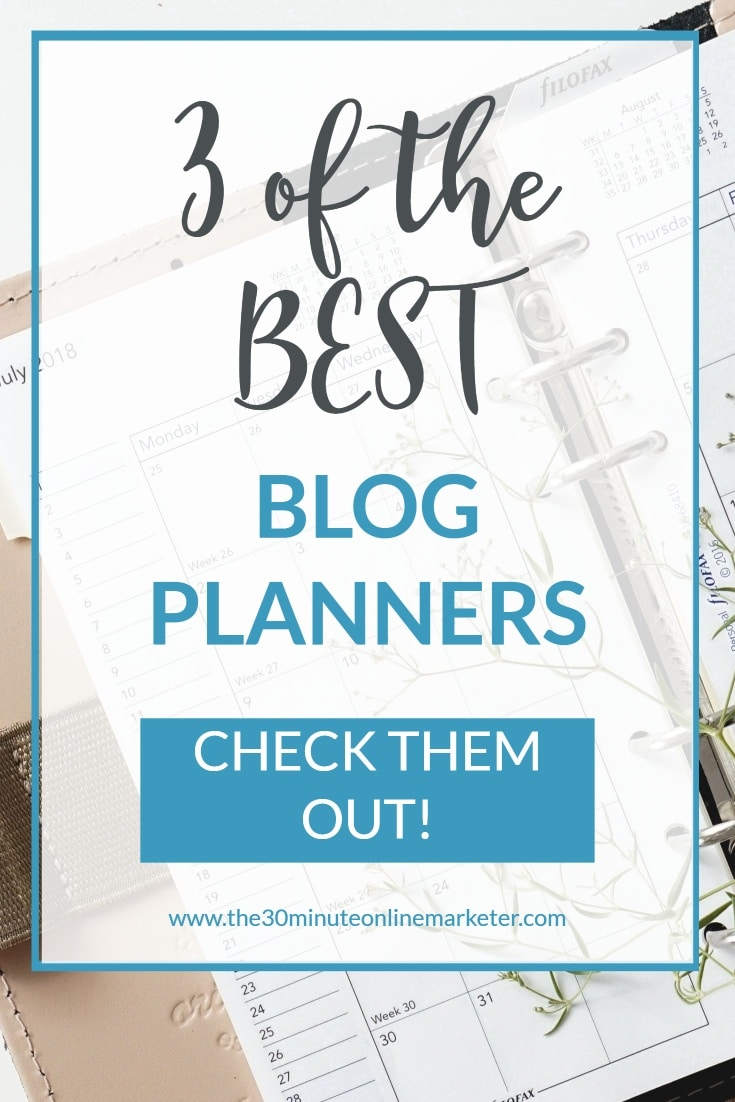 3 of the best blog planners