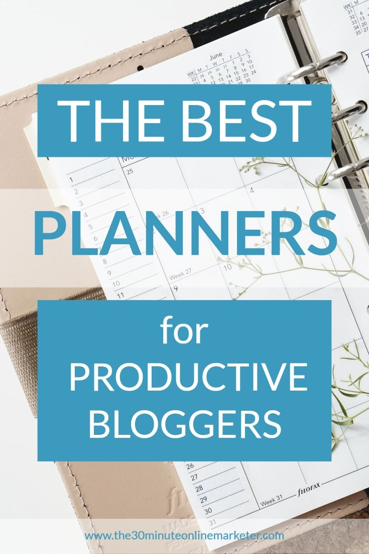 The best planners for productive blogging