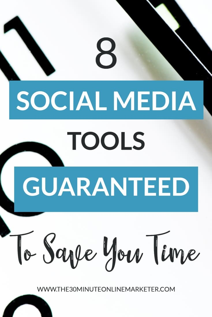 8 social media tools guaranteed to save you time