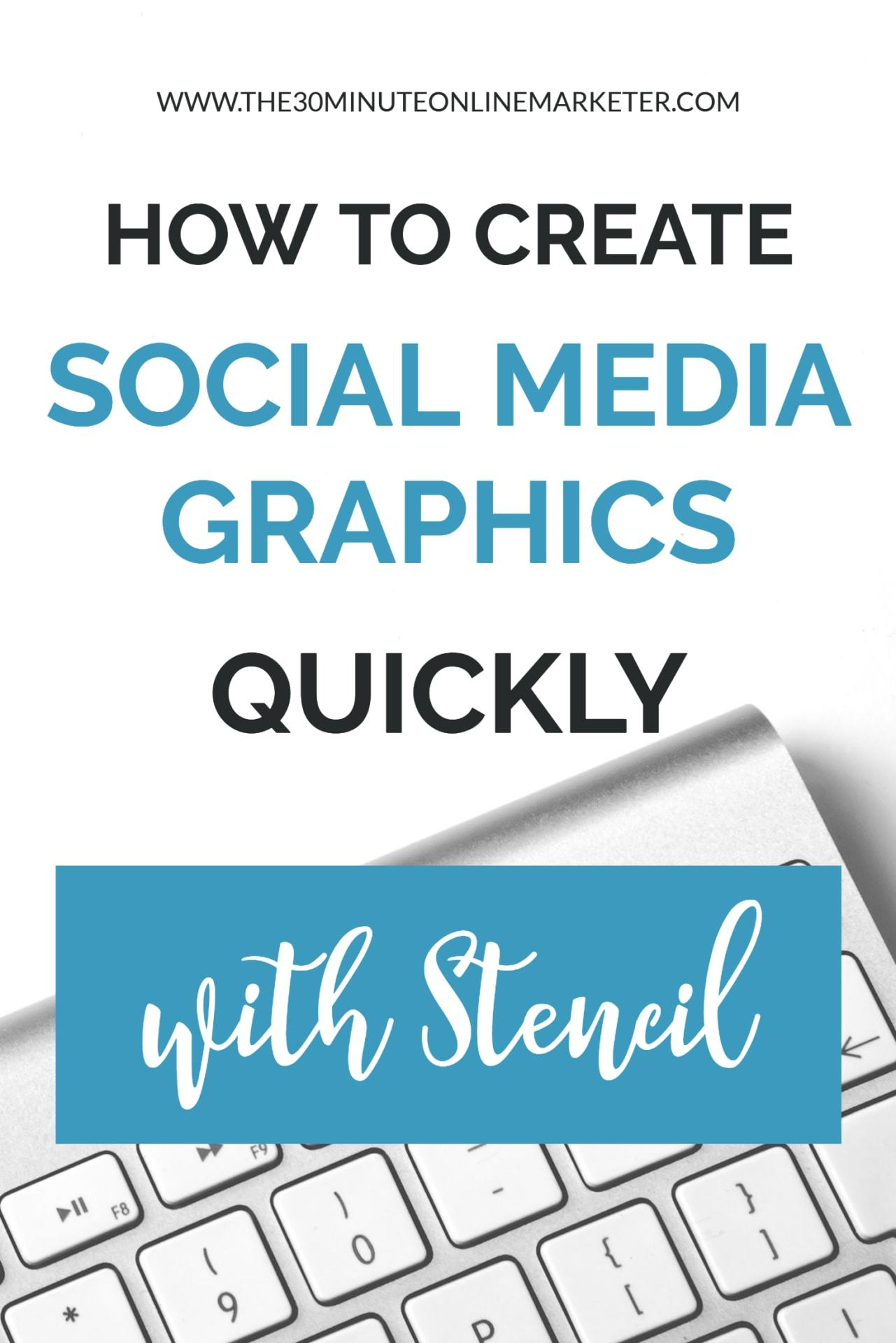 How to create social media graphics quickly with stencil