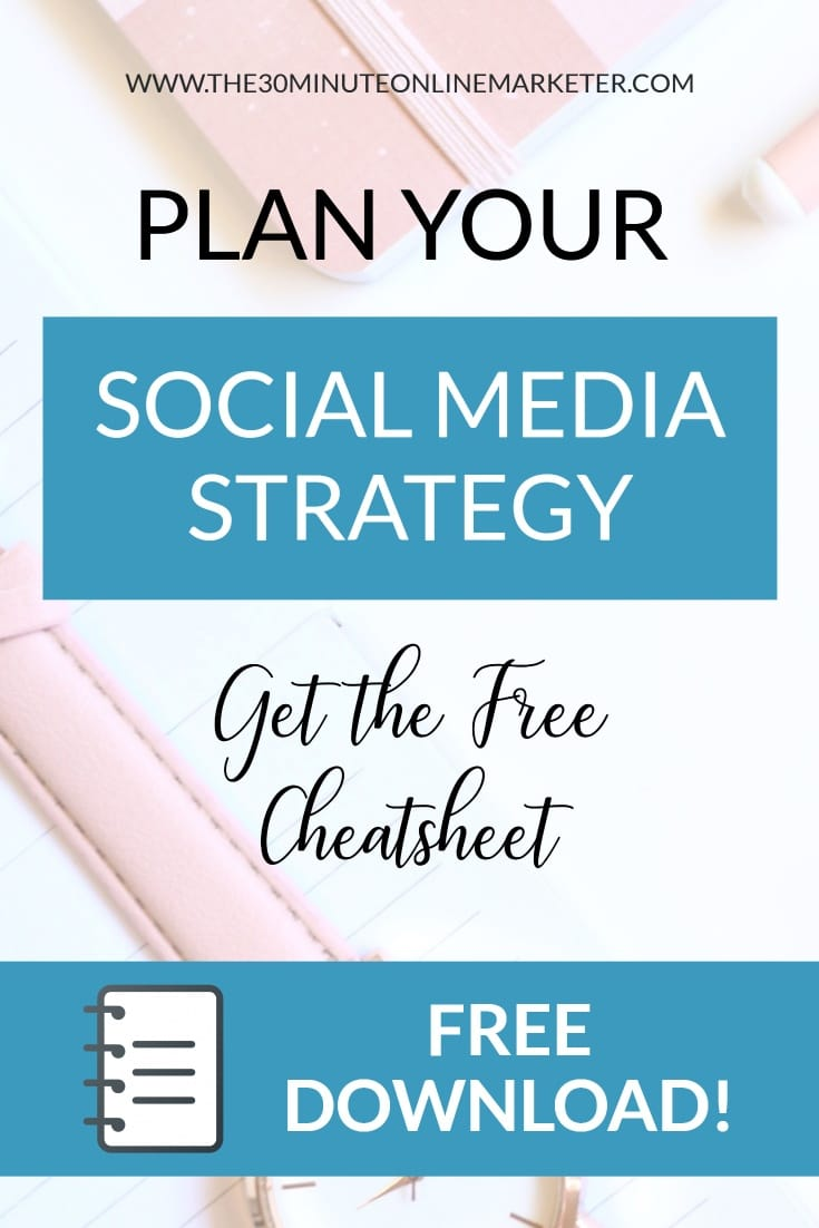 plan your social media strategy