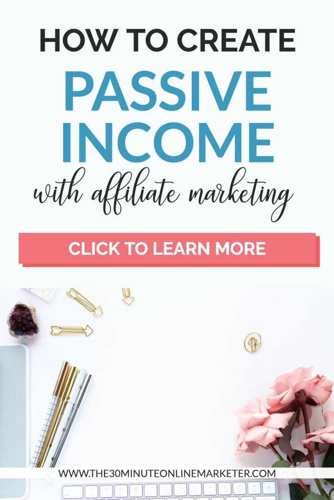 How to create passive income with affiliate marketing