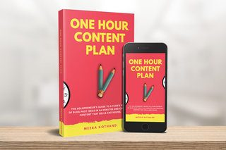 One hour content plan