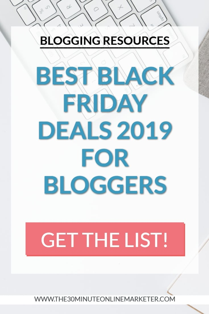 Best Black Friday Deals For Bloggers 2019