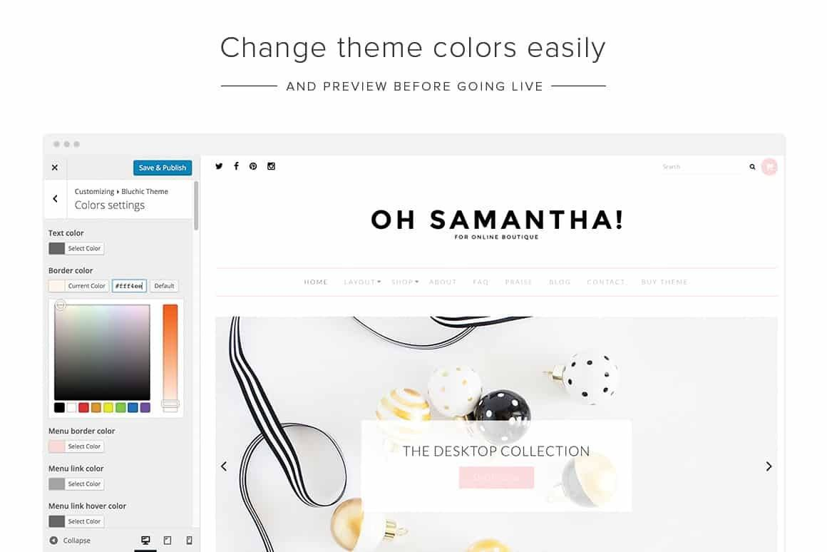 Samantha theme