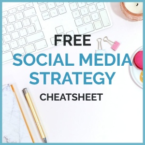 Free social media strategy cheatsheet