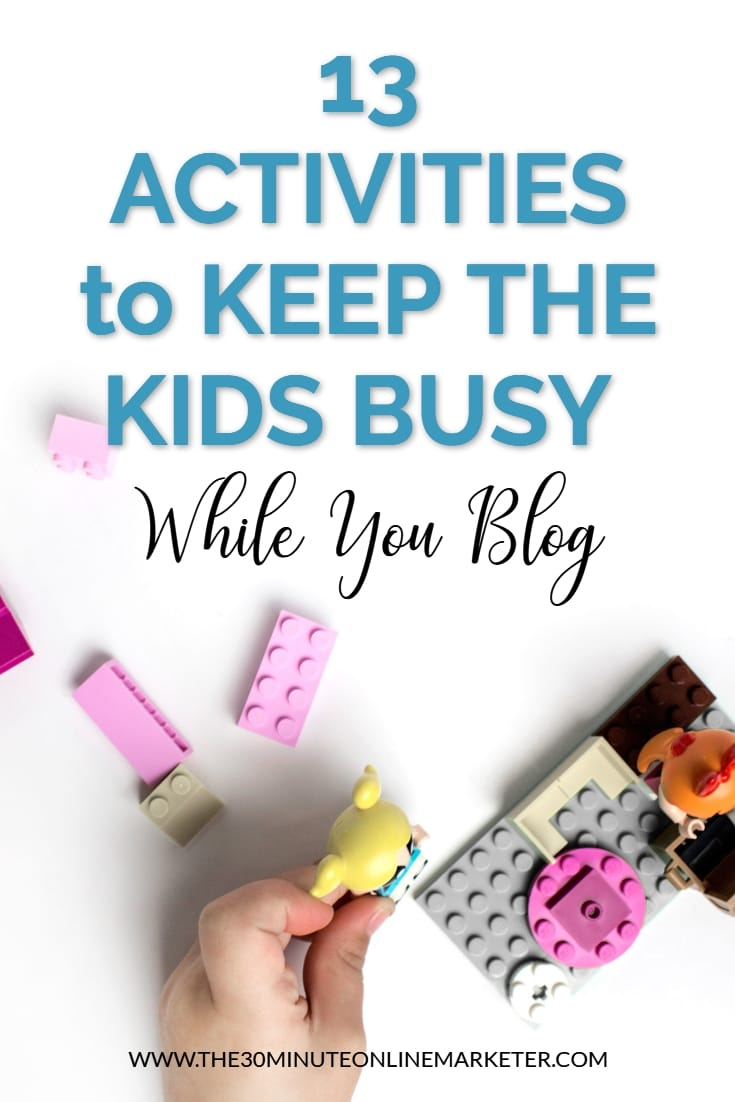 13 things to keep the kids busy