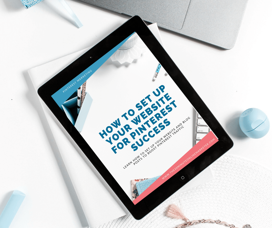 How to set up your website for Pinterest Success