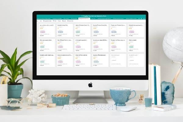 Blog Boss Organisational System