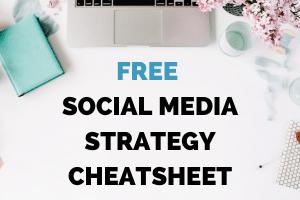 Social Media Strategy Cheatsheet
