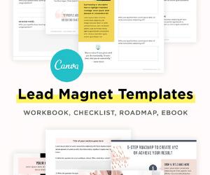 Bluchic Lead Magnet Templates