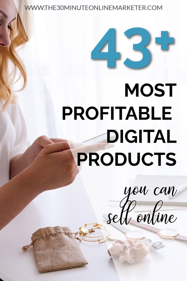 43+ digital products you can sell online