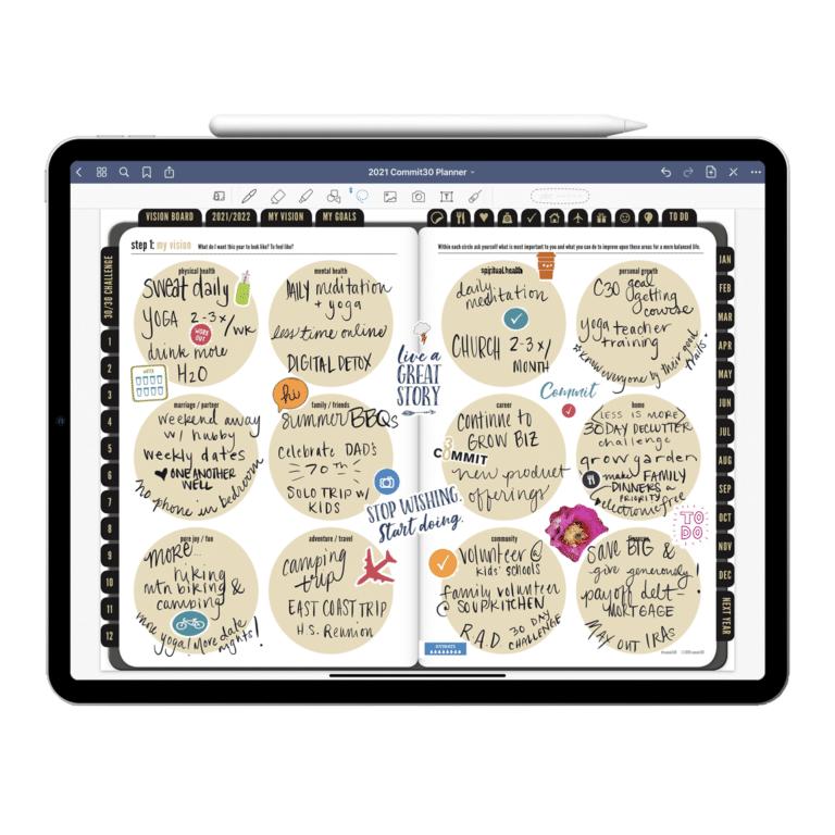 Digital Planner for iPad