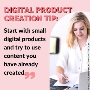 Digital Product Creation Tip